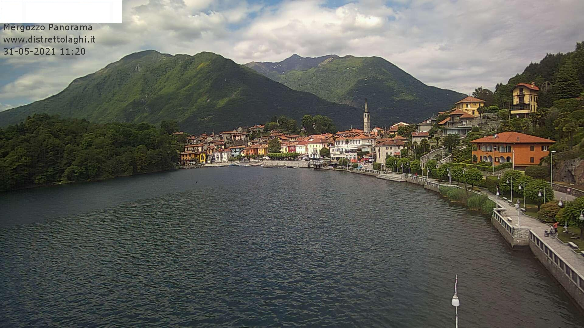 Webcam Lago di Mergozzo